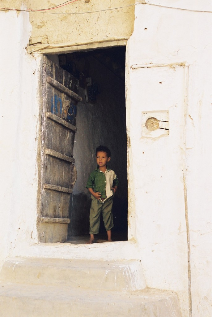 Boy in Shibam